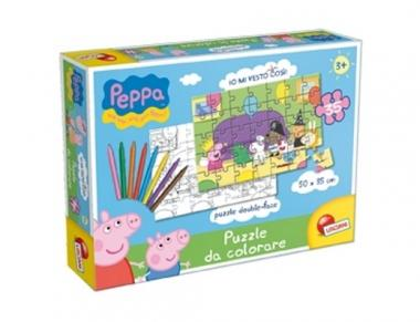 Puzzle da colorare Peppa Pig art.43231