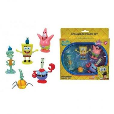 Spb Set 5 Personaggi Sbongebob art. 948887