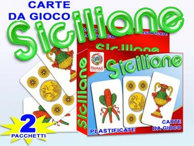 Carte Siciliane 2pz art.688918