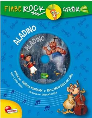 Fiabe rock Aladino art.06725