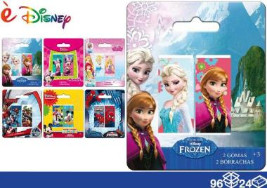 Disney Gomma 2 pz 96/24 assortito