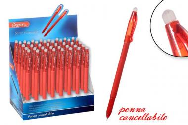 Penna Cancellab. Rossa In Display