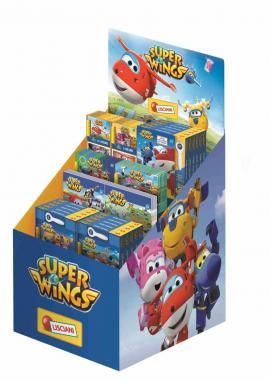 Espositore A Scaletta Super Wings
