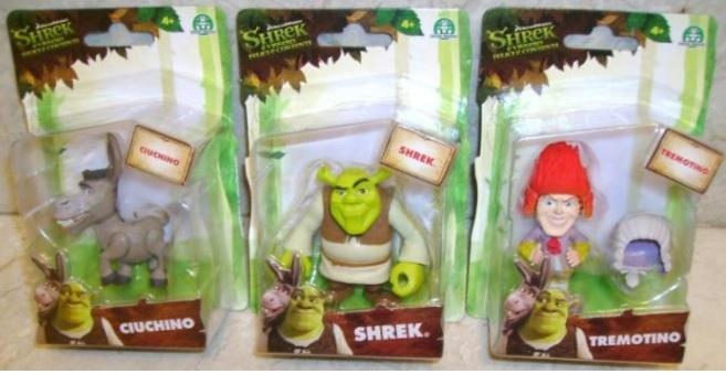 Shrek personaggi art.6971